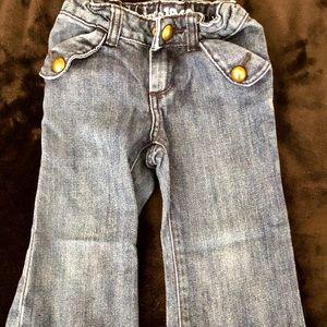 BabyGap toddler size 3 girls wide leg jean